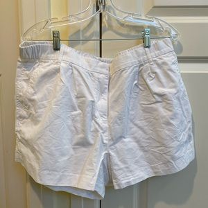 Gap White Stretchy Shorts